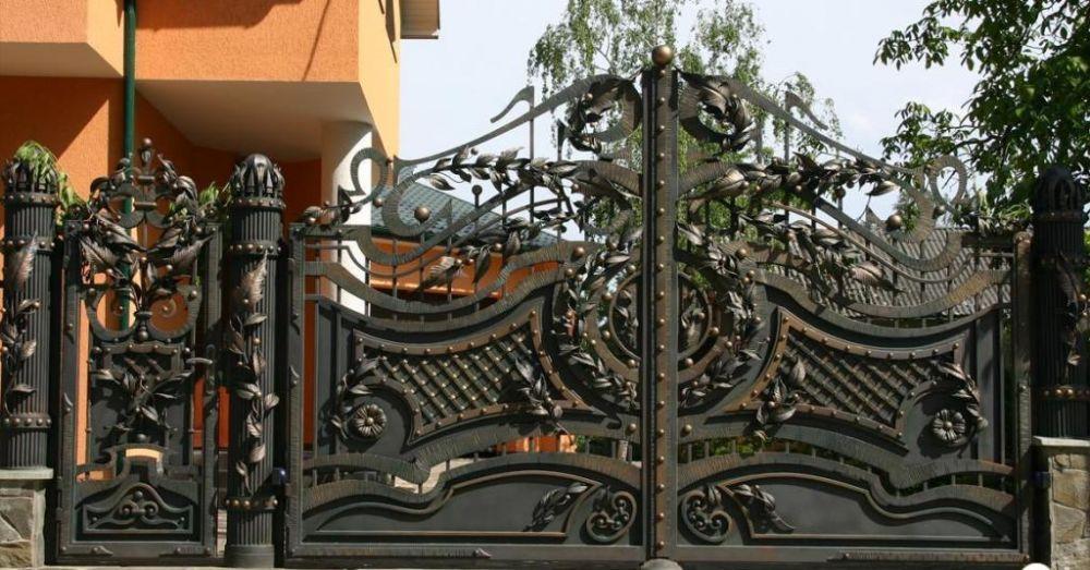 Шотландии элитные кованые ворота москва ЛЬВА Ужасы